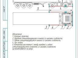 Лазерный стенд схождения для грузовиков, фур, прицепов