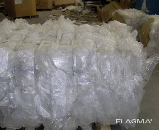 Ldpe films scrap in bales