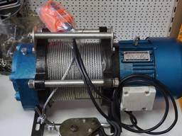 Лебедка электрическая 500\1000 кг 220В
