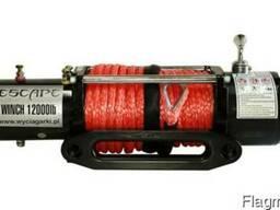 Лебедка Escape 12000 LBS- X [5443kg]12В c синтетическим трос
