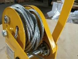Лебедка ручная механическая BHW 1100 кг