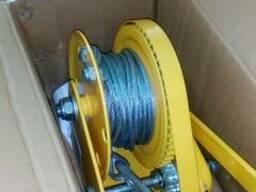 Лебедка ручная тросовая BHW-1150, 1150 кг