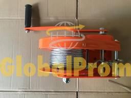 Лебедка ручная с тормозным фиксатором (лебедка ручная БХВ) - photo 5