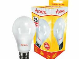 LED лампа Sokol A60 7.0 W 220В E27 3000К