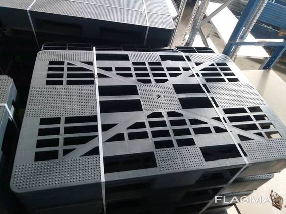 Пластиковые паллеты, поддон 120х80 см