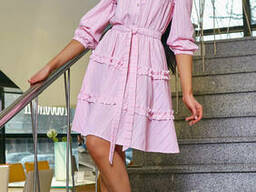 Легкое воздушное женское платье (42-48) , доставка по Украине