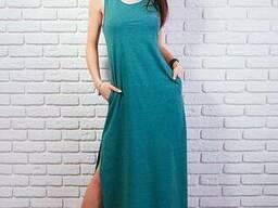 Легкое женское платье-сарафан в пол 42-48 , доставка по. . .