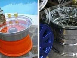 Легкосплавные диски колес авто. Распродажа
