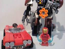 Lego (Лего) минифигурка Marvel, Super Heroes, DC - оригинал