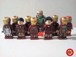 Lego (Лего) минифигурки (фигурки) Железный человек Iron Man