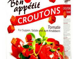 Leimer сухарики «Croutons» со вкусом томата - 100 гр.