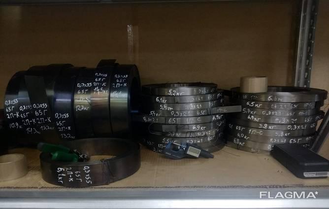Лента 1 х 55 мм ст 65Г ГОСТ 21996-76 високонагартованая