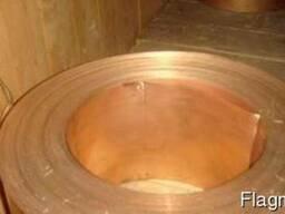 Лента бронзовая 0,8х250 мм БрБНТ, БроФ, БрКМц