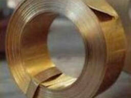Лента бронзовая БрБ2 0,3х250, ГОСТ