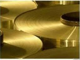 Лента БРОФ , лента бронзовая БРОФ 0,5мм, 0,6мм, 0,2мм, 0,15