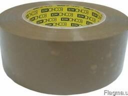 Лента клейкая упаковочная коричневая Economix 48*100