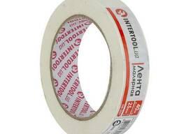 Лента малярная 25мм, 40м, белая Intertool DM-2541