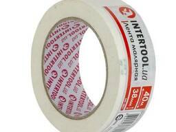 Лента малярная 38мм, 40м, белая Intertool DM-3841