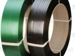 Лента полиэстеровая (ПЭТ) шириной от 9 мм до 19 мм