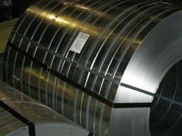 Лента пружинная сталь 65Г (каленая, полированная) 0, 3х100мм
