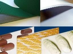 Лента ПВХ пищевая conveyor belt PVC PVG