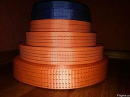 Лента текстильная полиэстеровая 28-75мм для стяжных ремней