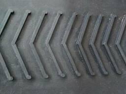 Лента триммера с наплавками бесконечная 400х4 зернопогрузчик ЗМ-60, ЗМ-100