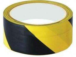 Лентасигнальная 100м (черно – желтая)