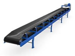 Ленточный конвейер конвеер транспортер горизонтальный наклон