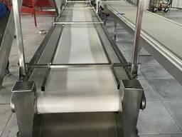 Ленточный транспортер ленточный конвейер горизонтальный, вер