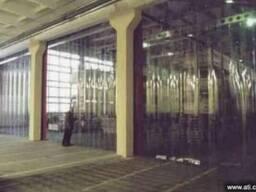 Ленточные ПВХ полосовые завесы для складов