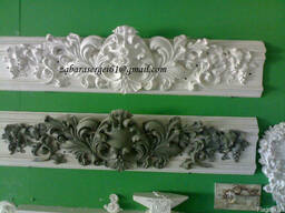 Декор интерьера и фасада.Лепные и скульптурные работы.
