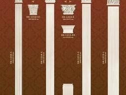 Лепной декор коллекция Classic Home пилястры с орнаментом