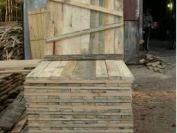 Леса строительные рамные (щит деревянный)