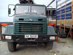 Лесовоз-манипулятор КРАЗ 65101