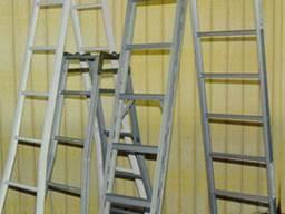 Лестница стремянка 3-секционная алюминиевая