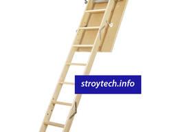 Лестница чердачная деревянная FAKRO LWS Plus