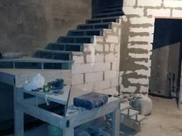 Лестница на металлокаркасе под заказ Киев Оодесса №2 - фото 2