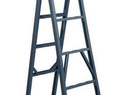 Лестница стремянка двухсекционная - фото 3
