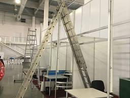 Лестница - стремянка универсальная алюминиевая 3*11