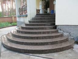 Лестница, ступени, входная группа из гранита