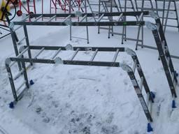 Лестница-трансформер 4*3, шарнирная лестница