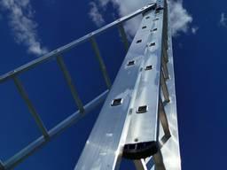 Лестница алюминиевая усиленная в ассортименте