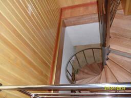 Лестница винтовая из нержавейки