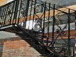 Кованые перила. Винтовые лестницы. Лестничные марши - фото 1
