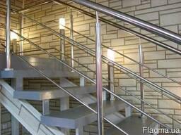 Лестницы, балконные ограждения, навесы из нержавейки