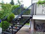 Лестницы из металла - фото 3