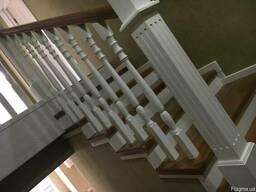 Лестницы из натуральной древесины
