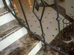Лестницы. Лестница мраморная под заказ. Монтажные работы.