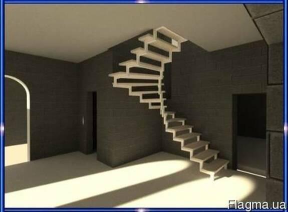 Лестницы металлические: прямые/поворотные/винтовые/хребтовые